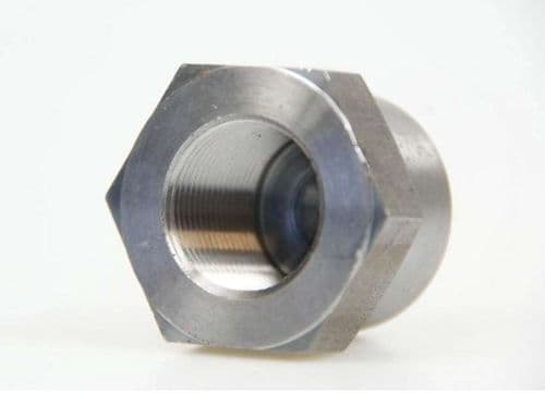 Drive shaft hub nut, LEFT