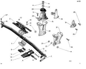 Engine and gearbox mountings
