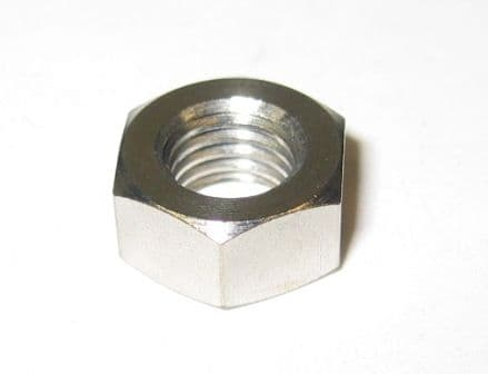 Nut, M9 x 1.25, Stainless steel