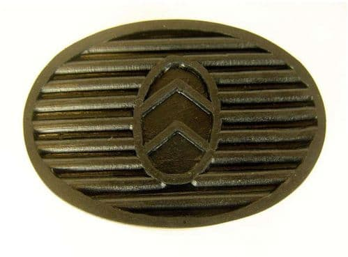 Oval Pedal rubber
