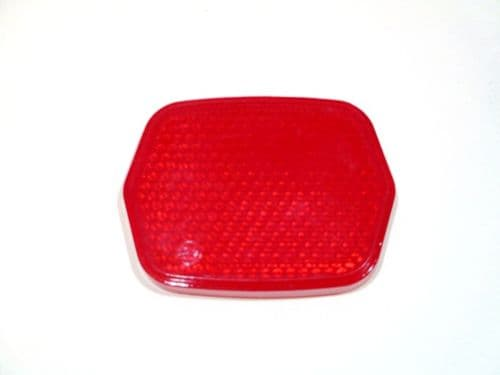 Rear reflector - red part only