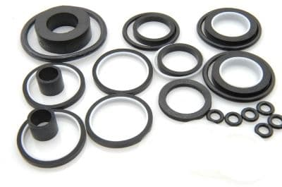 Seal set for steering rack, suitable for LHM