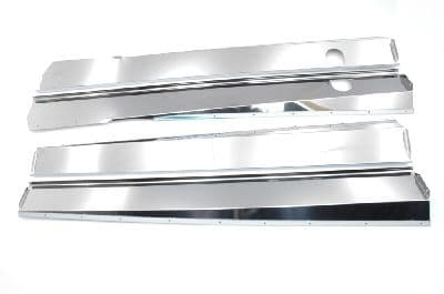 Set of polished stainless sill covers for Pallas