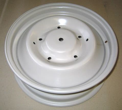 Wheel, refurbished, 1966> (round hole in middle) Price includes refundable surcharge!
