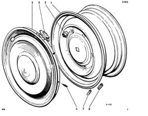 Wheels, wheel accessories and Tyres