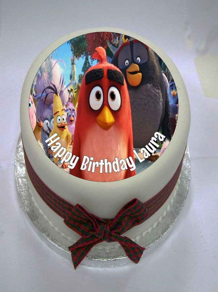 Angry Birds (option 2) Edible Cake Topper