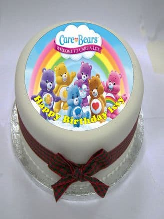 Care Bears Edible Cake Topper