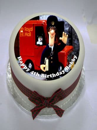 Postman Pat (Option 1) Edible Cake Topper