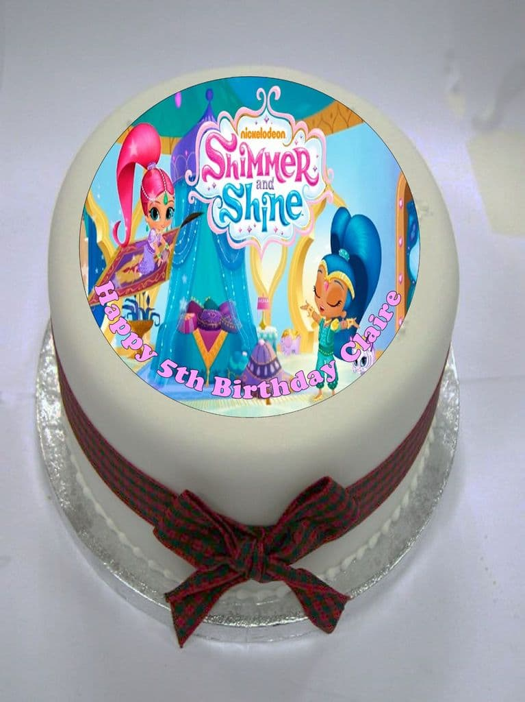 Shimmer and Shine Edible Cake Topper
