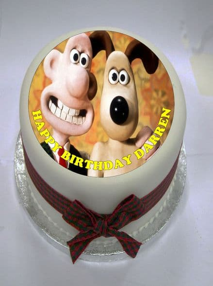 Wallace & Gromit Edible Cake Topper