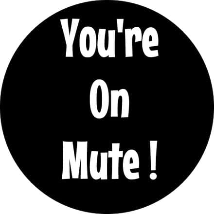 You're on Mute Edible Cupcake Topper