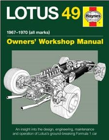 Lotus 49 1967-1970 Haynes Manual