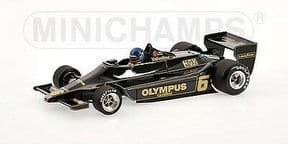 Minichamps 100 780006 Lotus Ford 79 R. Peterson 1978 1:18