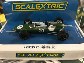 Scalextric C4195 Lotus 25 British GP 1962 Jim Clark 1:32