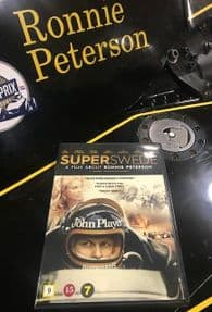 Superswede DVD - A film about Ronnie Peterson