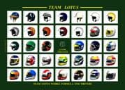Team Lotus Works F1 Drivers