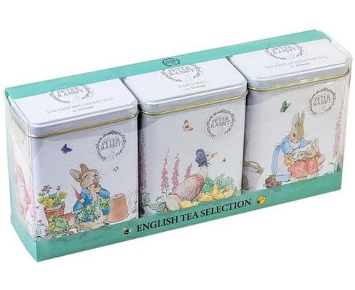 Beatrix Potter Triple Tin Gift with 120 teabags