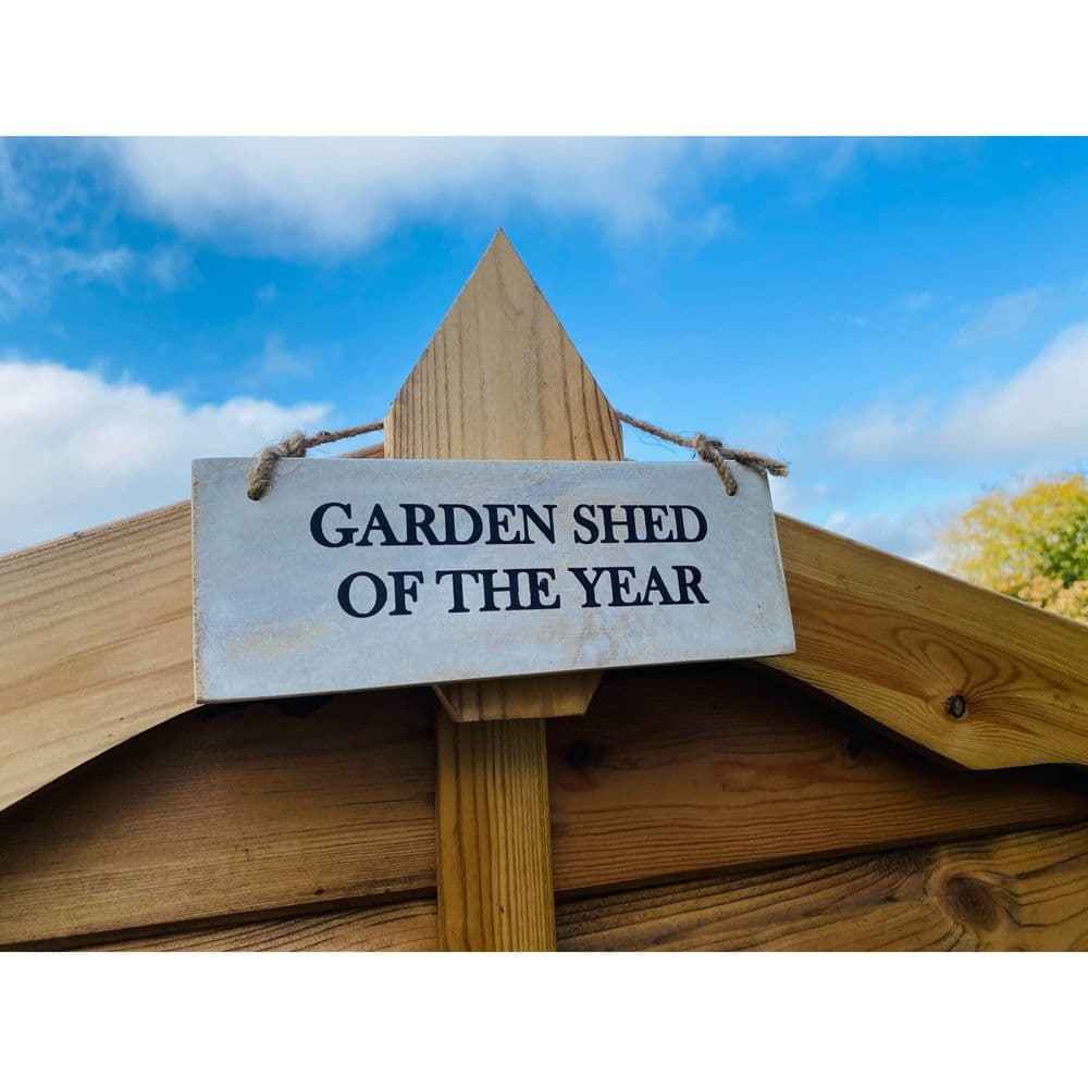 Garden Shed of the Year - Garden Sign
