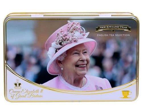 Queen Elizabeth II Tea Tin