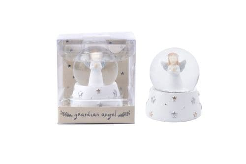 Angel Snow Globe - Guardian Angel