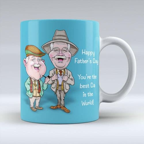 Auld Pals - Happy Father's Day Mug