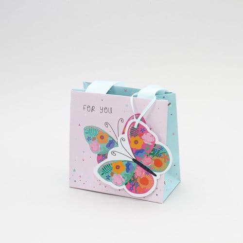 Belly Button - Small Gift Bag - Butterfly