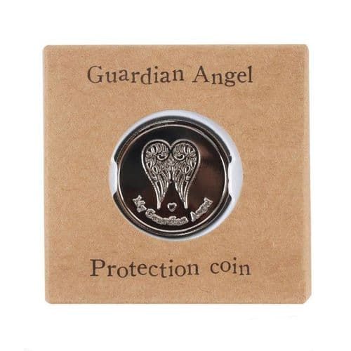 Boxed Angel Protection Coin - Wherever You Go
