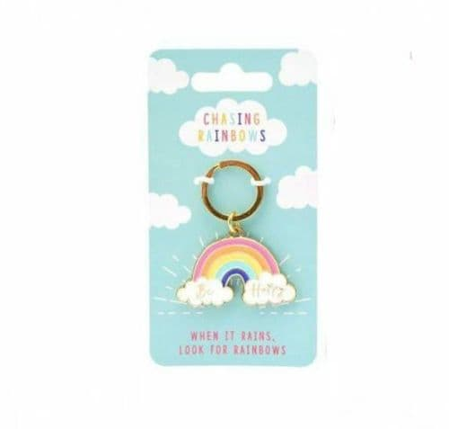 CGB - Rainbow Keyring - Be Happy