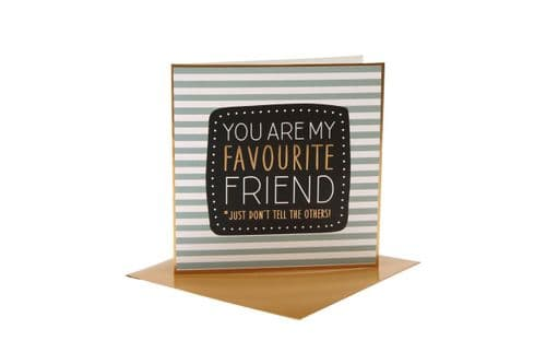 CGB - You Are My Favourite Friend - Card
