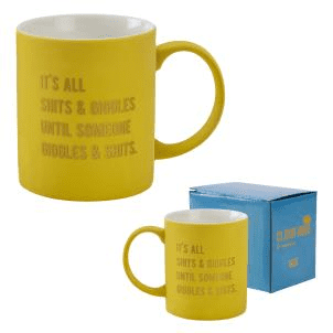 Cloud Nine  - Shits & Giggles Mug