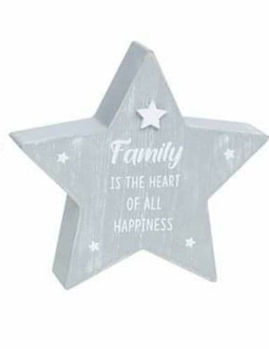 Cool Grey  Standing Star -Family  Is The Heart Of All Happiness (903)