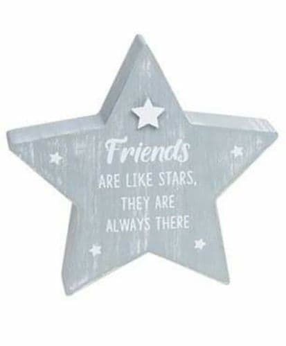 Cool Grey Standing Star - Friends Like Stars (902)