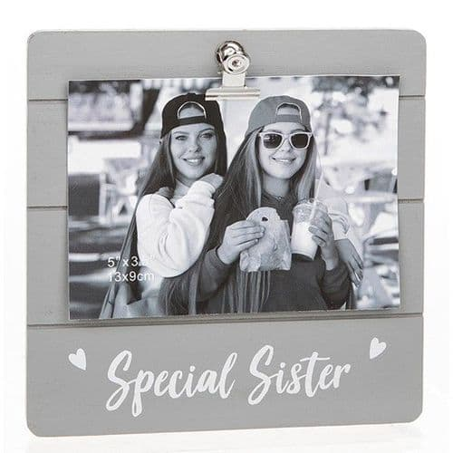 Cute Trey Clip Frame  - Special Sister (933)