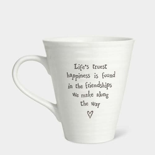 East of India - Life's Truest Happiness Mug