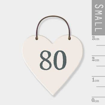 east of india - mini heart token - 80 (2903)