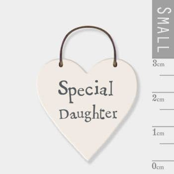 East Of India - Mini Heart Token - Special Daughter