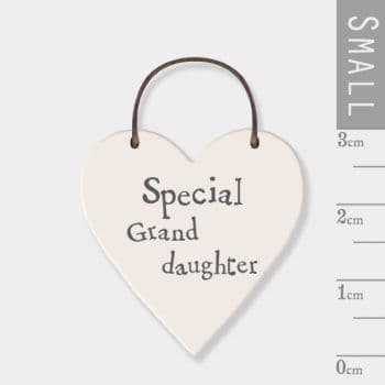East Of INdia - Mini Heart Token - Special Grand daughter