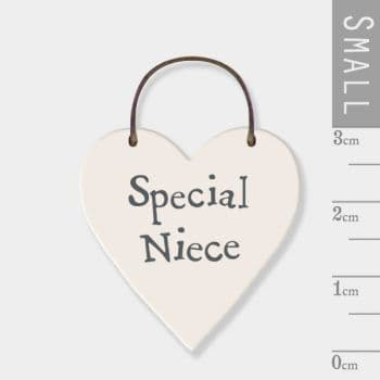 East Of India - Mini Heart Token - Special Niece (2878)