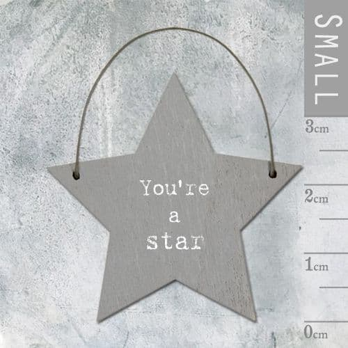 East Of India - Mini Star Token - You're A Star 2982