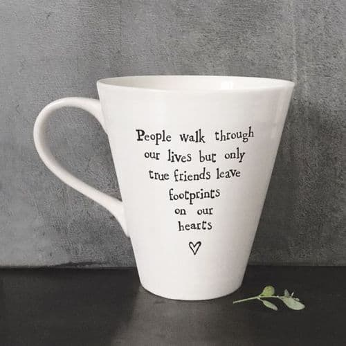 East OF India - People Walk Through Our Lives Mug 4164