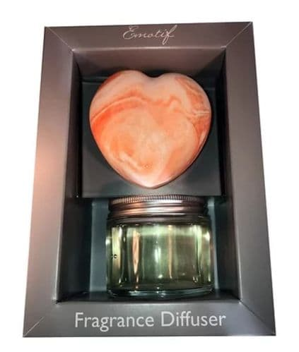 Emotif - Fragrance Diffuser - Heart - Citrus