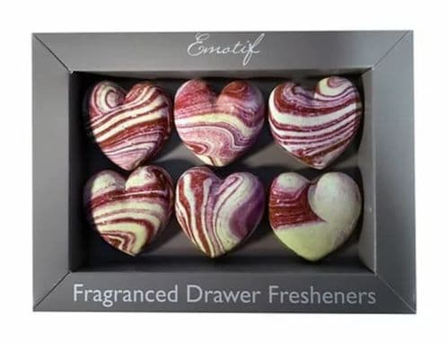 Emotif - Fragranced Fresheners Hearts - Red Berry Fruits