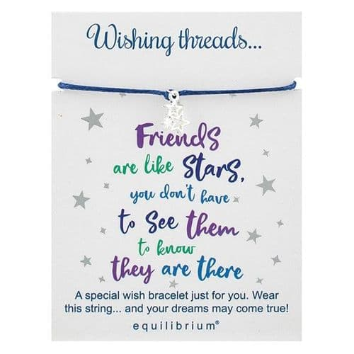 Equilibrium - Wish Thread - Bracelet Friends Are Like Stars (299651)