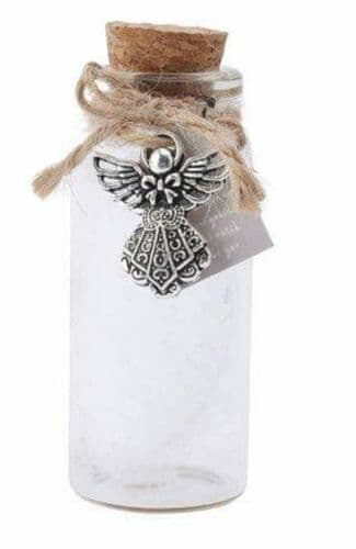 Feather In Bottle- Guardian Angel Keepsake