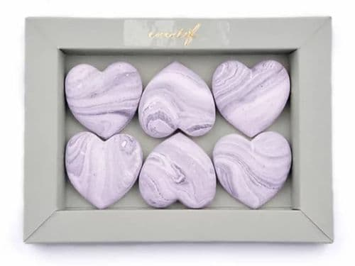 Fragranced Fresheners Hearts - Black Iris