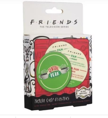 Friends - Trivia Quiz Coasters