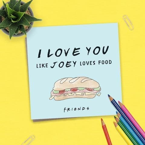 Friends - TV Series - Card - Love you