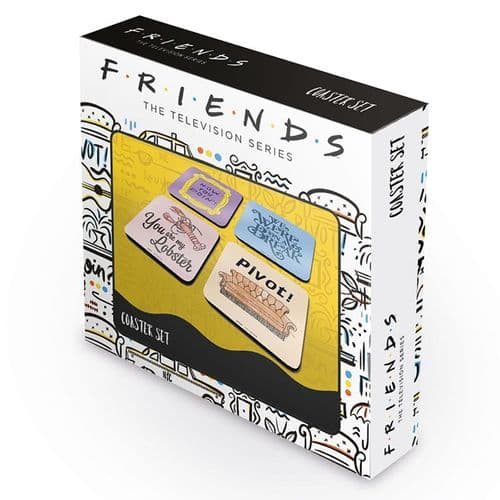 Friends - TV Series- Set of 4 coasters