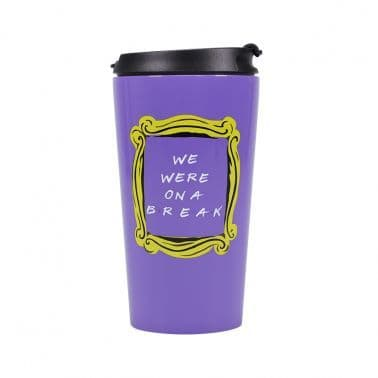 Friends - We were on a break travel mug