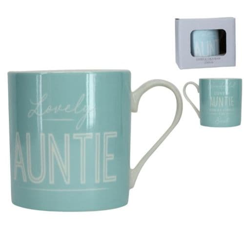 Gisela Graham - Boxed Sentiment Mug - Auntie (31632)